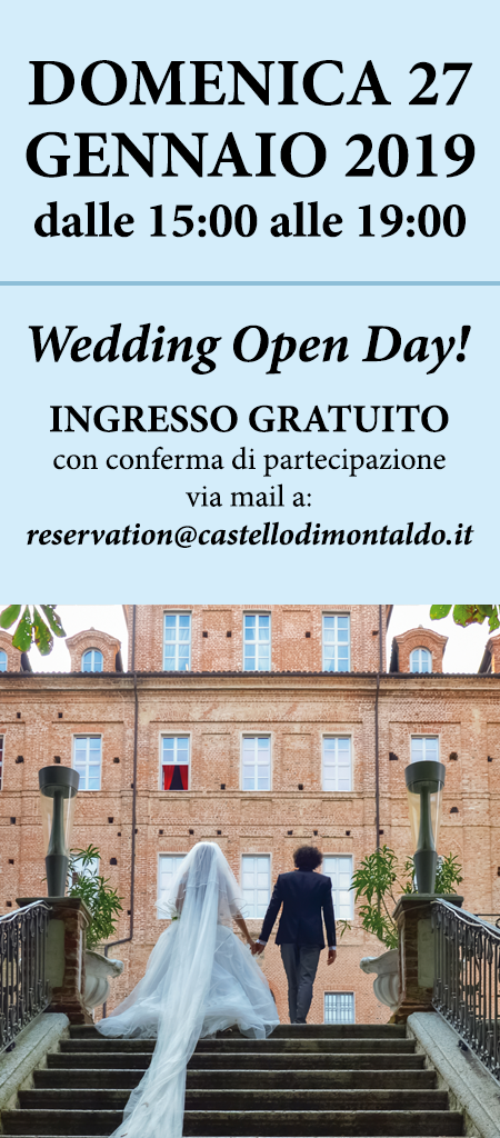 Wedding Open Day al Castello di Montaldo