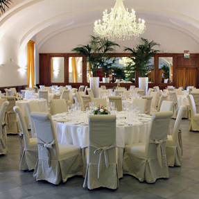 Banquets in a castle